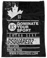 DSquared² Dominate D2 Zwart Crossbody Tas