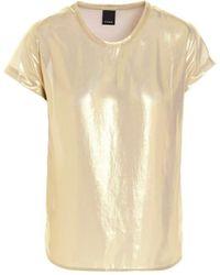 Pinko Farida 1 Gouden Blouse - Metallic