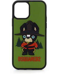 DSquared² Mascotte Groene Iphone 12 Pro Cover
