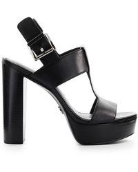 Michael Kors Becker Platform Sandal - Zwart