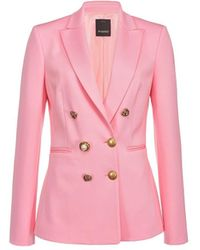 Pinko - Alexia 1 Roze Blazer - Lyst