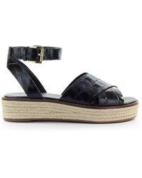 Michael Kors Abbott Black Sandal
