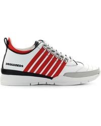 DSquared² 251 Rode Sneaker - Wit