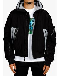 Mostly Heard Rarely Seen Reversible International Jacket - Black