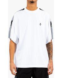 Marcelo Burlon County Tape Over T-shirt - White