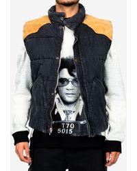 Alchemist Guess Jeans Puffer Vest - Black