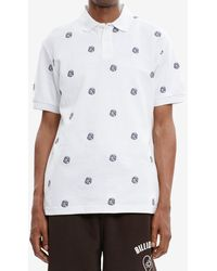 BBCICECREAM Embroidered Astro Polo Shirt - White