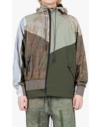 Mostly Heard Rarely Seen Every Which Way Track Jacket - Green