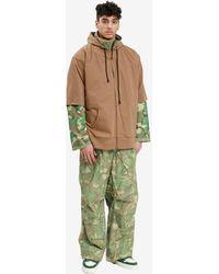 Sankuanz Reversible Military Jacket - Green