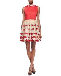 Alice + Olivia Pout Pouf A-Line Skirt - Lyst