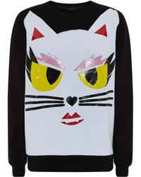 Karl Lagerfeld Margo Choupette Face Sweater - Lyst