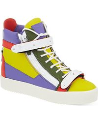 Giuseppe Zanotti Palermo High-Top Trainers - For Women - Lyst