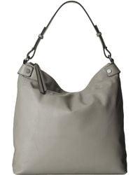 Ecco Sculptured Hobo Bag - Lyst