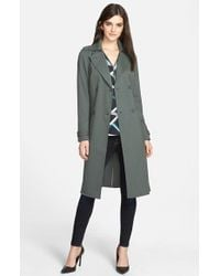 Trouvé - Belted Trench Coat - Lyst