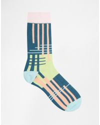 Urban Eccentric - Socks In 5 Pack Abstract - Lyst