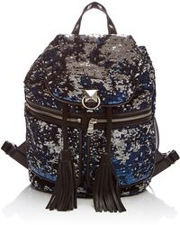 Sonia Rykiel - Tasselled Sequin Backpack - Lyst