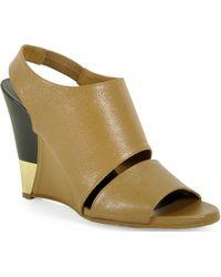 Chloé Ch24005 - Wedge Sandal - Lyst