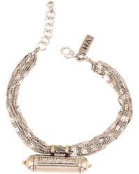 Vanessa Mooney Trinket Of Secrets Bracelet silver - Lyst