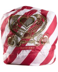 Manish Arora Candy Stripe Baby Backpack red - Lyst