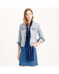 J.Crew Denim Jacket In Calyer Wash - Lyst
