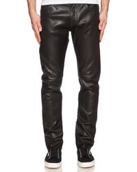 True Religion Dean Leather Pant - Lyst