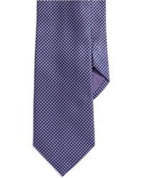Hugo Boss Checkered Silk Tie - Lyst