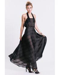 Karen Zambos - Long Virginia Skirt - Lyst