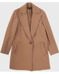 Theory Ardene Coat brown - Lyst