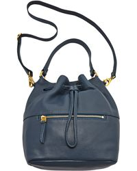 Fossil - Vickery Leather Slouch Bucket Bag - Lyst