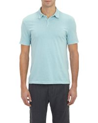 James Perse Jersey Polo - Lyst