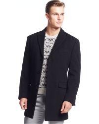 Calvin Klein | X-fit Mellior Extra Slim-fit Overcoat | Lyst