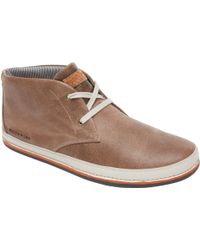 Rockport Harbor Point Leather Lace-up Chukka Boots - Brown