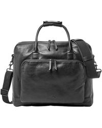 Fossil - Carson Leather Briefcase - Lyst