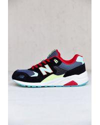 New Balance Black 580 Sneaker - Lyst