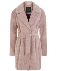 Juicy Couture - Brushed Wool Coat - Lyst