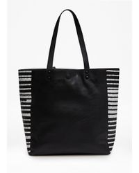 French Connection Rocha Leather Tote Bag - Lyst