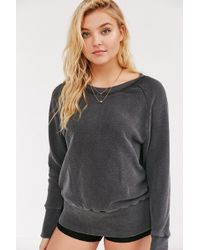 Truly Madly Deeply - Piper Button-back Pullover Sweatshirt - Lyst