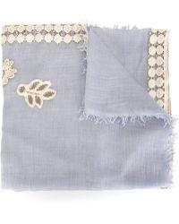 Forte Forte | Crochet Insert Scarf | Lyst