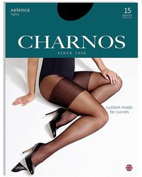 Charnos Xelence 15 Denier Tights - Black