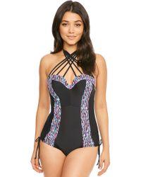 Curvy Kate - Galaxy Bandeau Swimsuit - Lyst