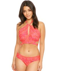 Curvy Kate - Daze Cross-over Bandeau Bikini Top - Lyst