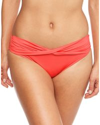 Seafolly - Twist Band Mini Hipster Bottom - Lyst