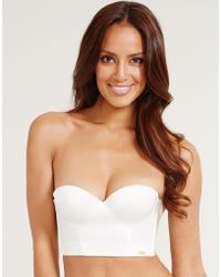 Ultimo - Icon Low Back Strapless Bra - Lyst
