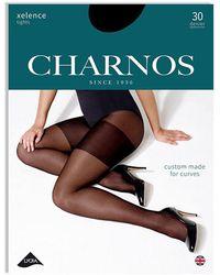 Charnos Xelence 30 Denier Tights - Black
