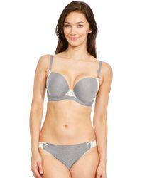 f3ac5722f05 Freya Deco Darling Underwired Moulded Strapless Bra in White - Lyst