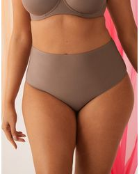 Figleaves Smoothing High Waisted Brief - Multicolour