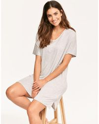 DKNY - Core Essentials S/s Sleepshirt - Lyst