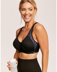 170ce703b47f2 Freya Sonic Moulded Spacer Sports Bra in White - Lyst