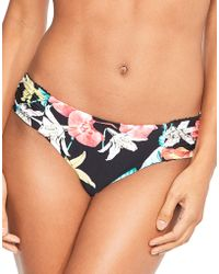 Seafolly - Island Vibe Ruched Side Retro Brief - Lyst