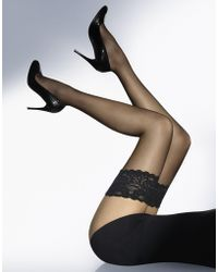 Wolford - Satin Touch 20 Denier Hold Ups - Lyst
